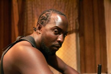 "Michael K. Williams as Omar on ""The Wire"""